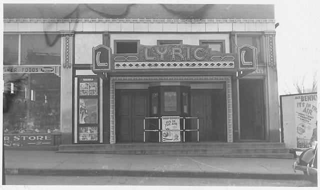 The old Lyric Theatre