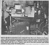 Projectors, 1979