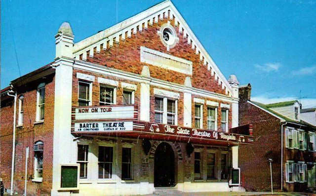 Barter Theatre exterior