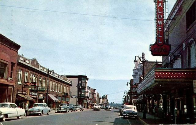 Caldwell Theatre exterior