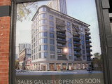 Artist's rendering of the re-purposed facade.