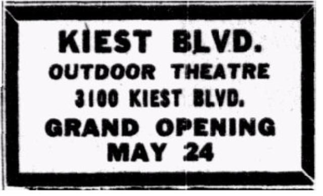 Kiest Boulevard Drive-In