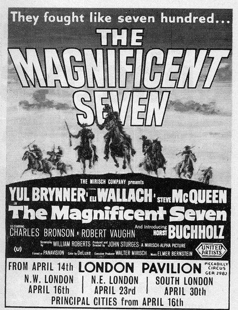 THE MAGNIFICENT SEVEN(1960)