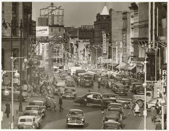 Circa 1952 photo credit Times Union.