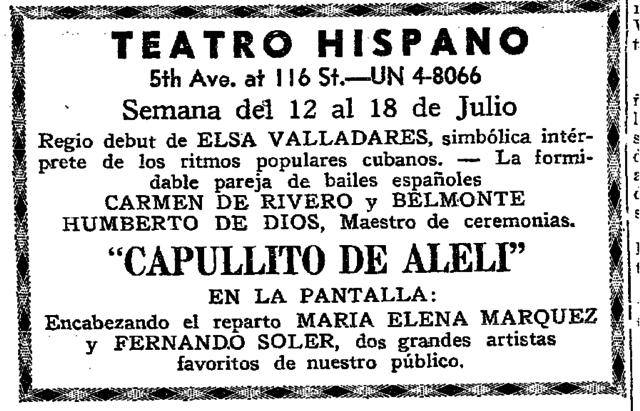 Teatro Hispano