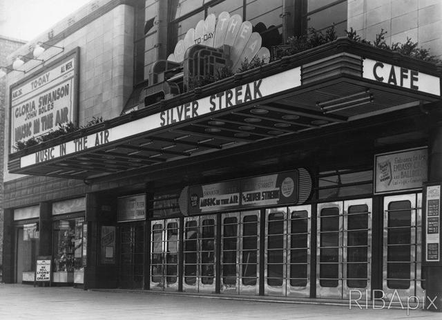 The Embassy Cinema - Canopy
