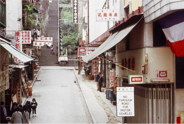 Hong Kong Grand Theatre is on the right side of the photograph