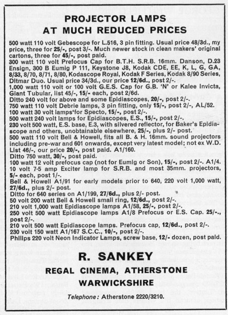 R Sankey Advert