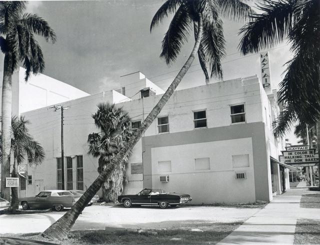 Mayfair Theatre 1973 Miami Herald Press Photo