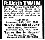 Fort Worth Twin Drive-In