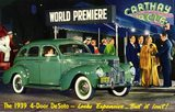 1939 DeSoto post card courtesy of Michael Owens.