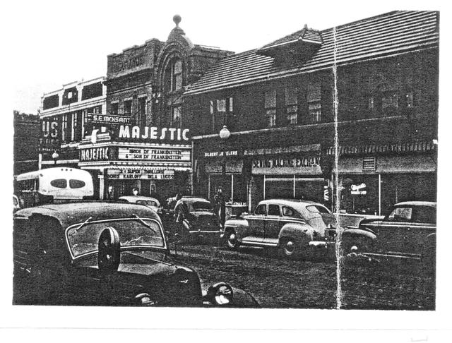 majestic theater, 1940s