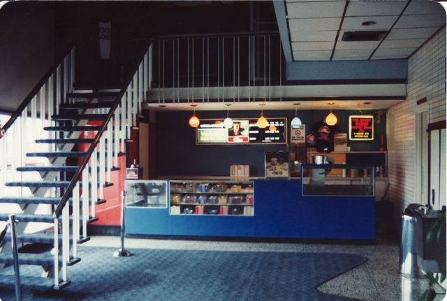 Lobby and Concessions, Bayshore Cinema