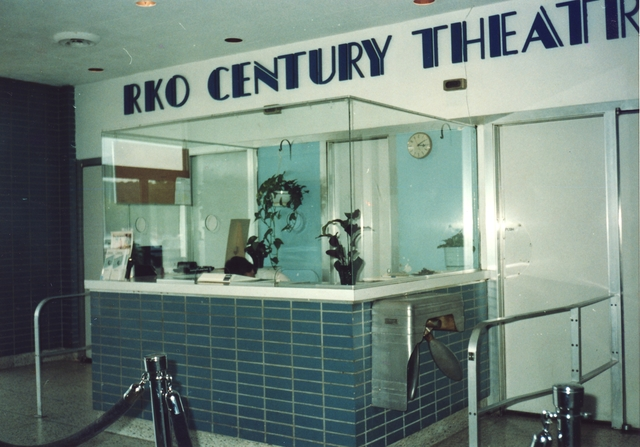 Outer lobby of Whitman Theatre 1991
