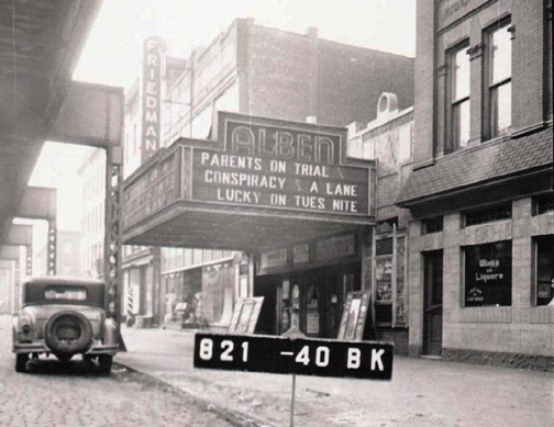 Alben Theatre in 1940