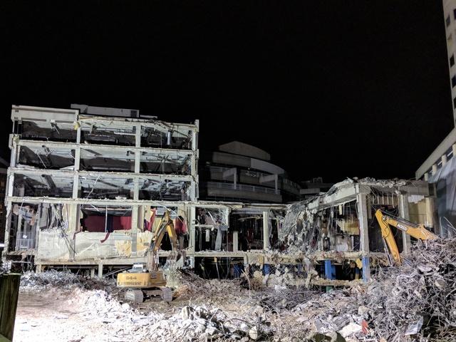Regal Bethesda 10 demolition - December 2017