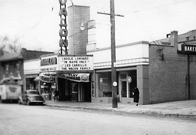 Here's a view of the Avalon in the late '30s