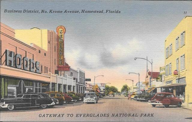 Mid `50s postcard via David StGermain.