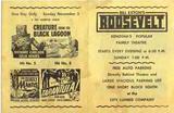 ROOSEVELT Theatre (Kenosha WI) flyer, late 1950s.