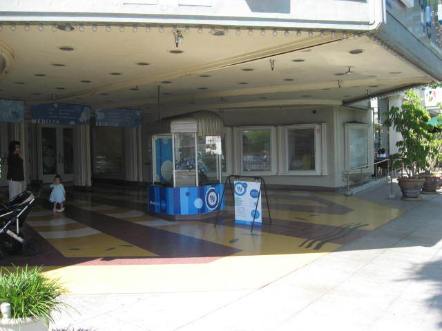 Forecourt and Box Office