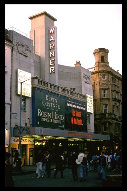 The Warner West End in July 1991