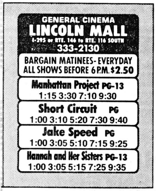 Lincoln Mall Cinemas