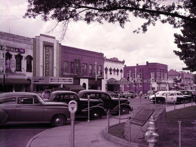 Gem Theater, Newnan GA October 1950