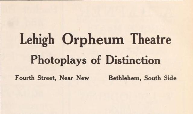 Lehigh Theater