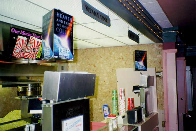 1998 Concession stand (left)