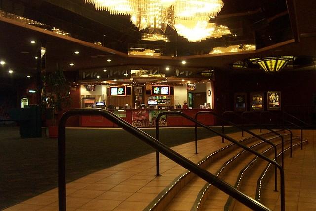 Newport 8 Lobby Entrance