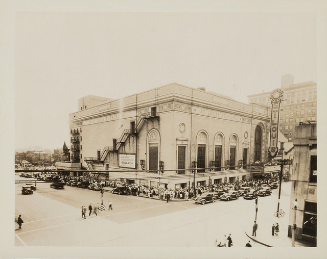 St. Louis Theatre, St. Louis, Missouri - 1938
