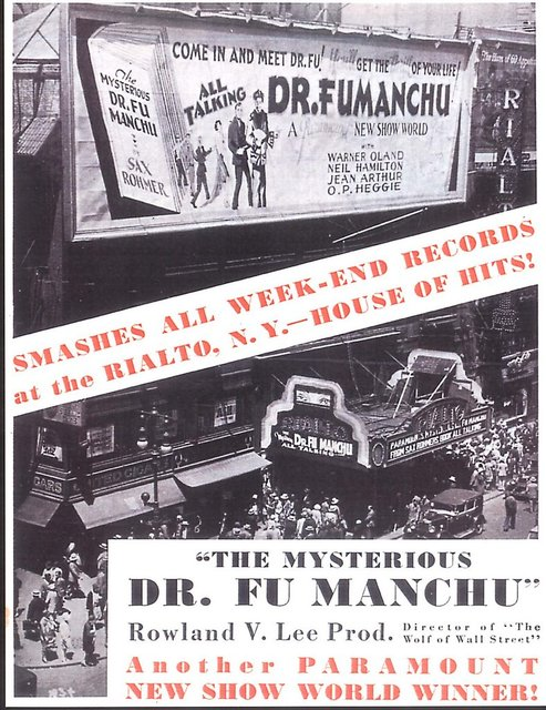 THE MYSTERIOUS DR .FU MANCHU