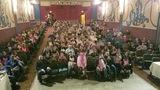 filled auditorium