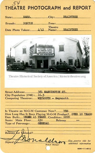 Braintree Theater