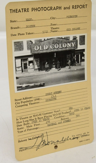 Old Colony Theater