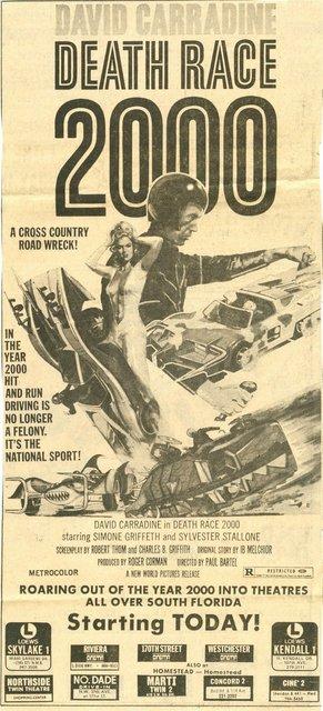 DEATH RACE 2000(1975)