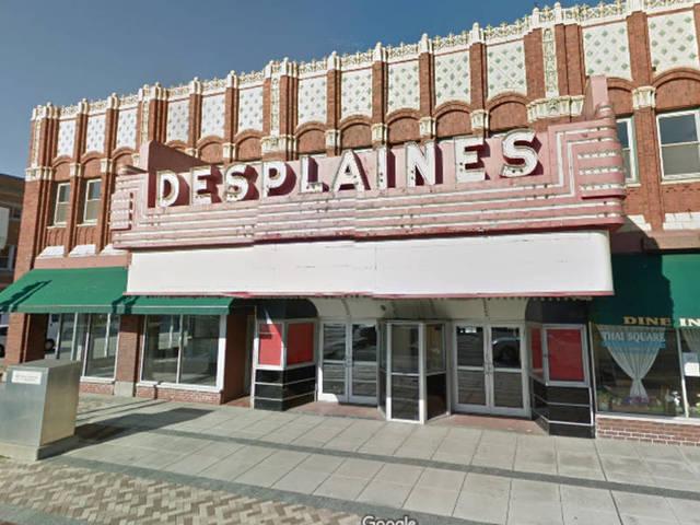 DES PLAINES Theatre; Des Plaines, Illinois.