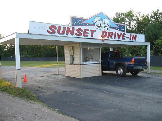 Sunset Drive-In, Colchester VT