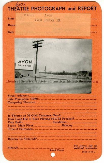 Avon Drive-In