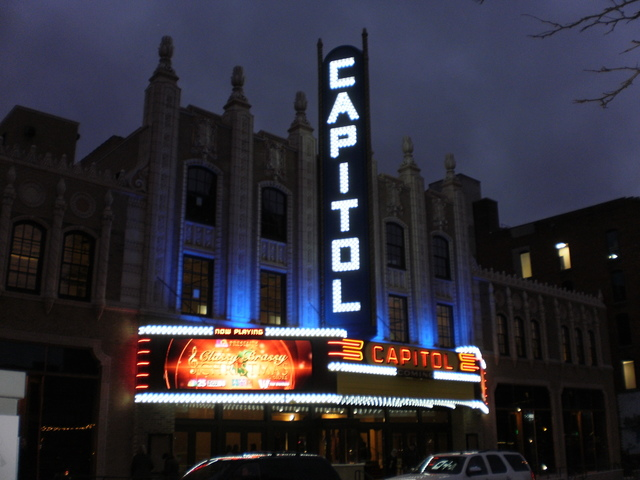 Replicated Capitol Theatre marquee