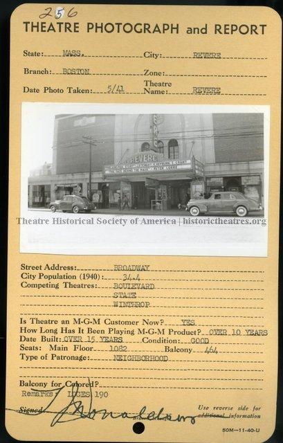 Revere Theatre