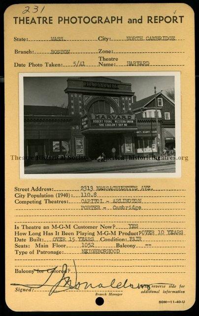 Harvard Theatre