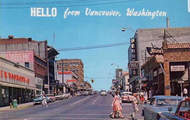 Early `60's postcard via Theo Tersteeg.