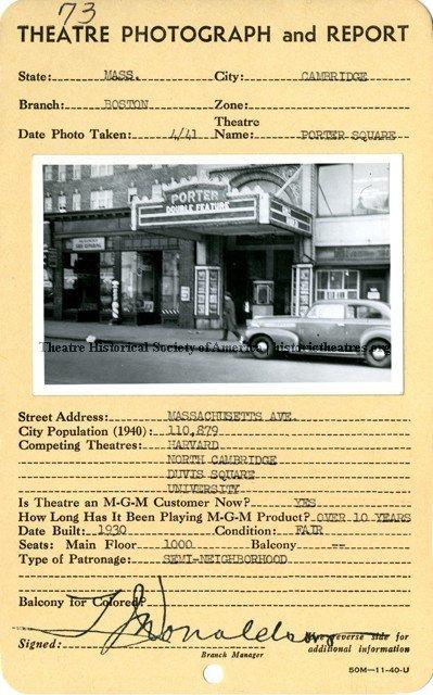 Porter Square Theatre
