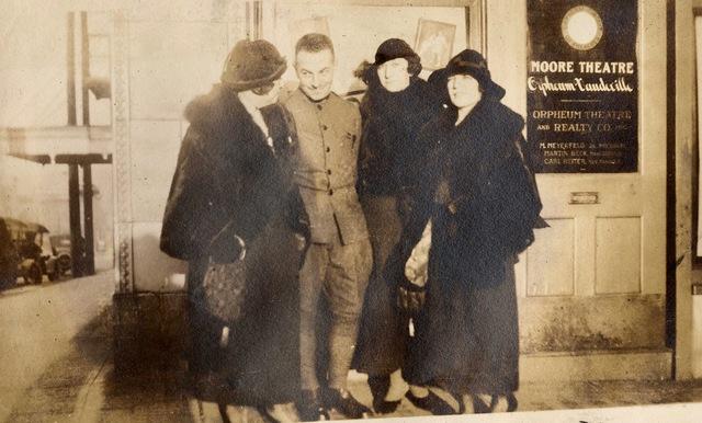 Moore Theatre, Orpheum Vaudeville