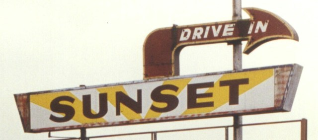 Closer view of marquee