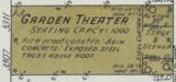 """[""""Garden Theatre""""]"""