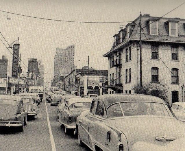 Circa 1958 photo via Joe Knight.