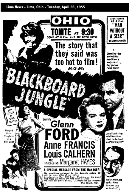 BLACK BOARD JUNGLE