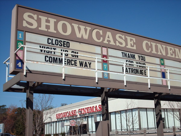 Showcase Cinemas Seekonk 1-10